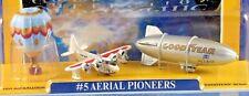 RARITÄT: Micro Machines National Geographic AERIAL PIONEERS Luftfahrt-Pioniere!