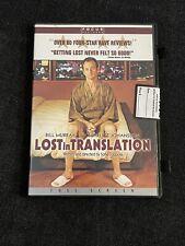 Lost in Translation (Dvd, 2004, Widescreen) Bill Murray