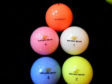 "20 NICKLAUS  ""GOLDEN BEAR"" - ""LADY BEAR PEARLISED"" - Golf Balls - ""MINT/PEARL""."