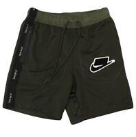 Nike Sportswear NSW Olive Green Shorts BV4609-355 Size Large