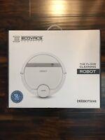 Ecovacs DEEBOT 900 Robotic Smart Vacuum Cleaner for Bare Floors & Carpet, White