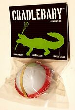 Cradlebaby Lacrosse Lax Indoor/Outdoor Training tool. Red strap Laxcb Sports Inc