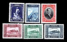 Turkey 1929 set of stamps Mi#885-90 MH CV=550€