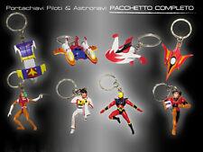 Portachiavi Piloti & Astronavi Rarissimo Set '80 Jeeg+Goldrake+Mazinger+Daitarn3