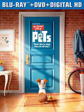The Secret Life of Pets (Blu-ray Disc ONLY, 2016)