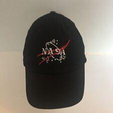 Nasa Baseball Youth Hat Cap Kids Space Black. Embroidered Logo.