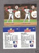 1993 Humpty Dumpty Cards' Ozzie Smith Proof Uncut Pair