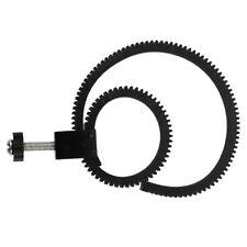 Adjustable Flexible Lens Follow Focus Gear Ring Belt for DSLR Camcorder L3F A7N6
