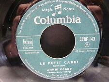 ANNIE CORDY Le petit cabri / Paris chéri SCRF 143 JUKE BOX