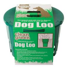 Armitages Good Boy Clean Green Dog Cat Loo Toilet Waste Disposal Unit + Scoop