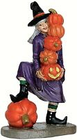 Lemax 62426 DELICATE BALANCE Spooky Town Figurine Halloween Decor Witch Figure I