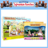 SYLVANIAN FAMILIES FOREST NURSERY + BABIES RIDE & PLAY COMBO DEAL 5100 5040