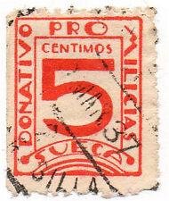 Sello Local Guerra Civil Sueca -Cat. Guillamon 1257.  ORD:1085