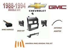 CHEVY GMC SUV/ Full Size Trucks 1988-1994 Double DIN Dash Kit, Wire Harness