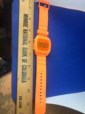 Vintage Adidas Originals Watch Summer Orange *RARE*