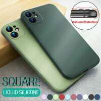 For iPhone 12 Pro Max 7 8 11 XS Max XR Phone Case Shockproof Bumper Soft Cover