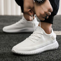 Men Breathable Mesh Sports Running Casual Shoes Lace up Fashion Athletic Sneaker