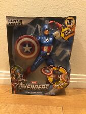 "Hasbro Marvel Avengers 10"" Action Figure Ultra Strike Captain America NIB"