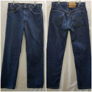 EUC Vintage Levis 505 Orange Tab Mens Denim 31x30 Straight leg Jeans 70s 80s USA