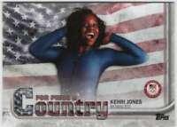 2018 US Winter Olympics For Pride and Country #PAC-KJ Kehri Jones