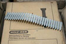 1000 st Holzher Sternnägel 44mm Striscia Chiodi Alluminio Fensternägel