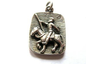 GENTS VERY SOLID & VERY OLD,  VINTAGE PENDANT.