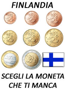 1 2 5 10 20 50 CENT 1 2 EURO FINLANDIA FINNLAND FINLAND 1999 - 2009 SPL CIRC.