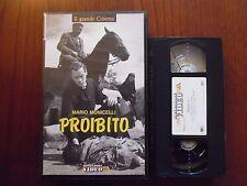 Proibito (Mario Monicelli, Mel Ferrer, Amedeo Nazzari) - VHS ed. Mondadori rara