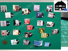 THE SMITHS.Miniature record Album Collection. Scale 1:12