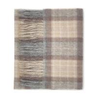 Kiltane of Scotland 100% Lambswool Scottish Tartan Scarf - Mackellar Natural