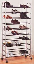 Schuhregal rollbar 40 Paar Schuhe Schuhschrank auch für Boots mit Rollen *1