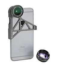 ExoLens Wide Angle and  Photo Zoom Lens for iPhone 6 6s, Aluminum 9472201