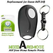 For Linear ACT-31B Mini Remote Control LD033 LD050 LS050 Garage Door Key Chain