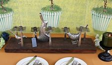 POTTERY BARN PIERCED BUNNY CENTERPIECE –NIB- SPRING TO A NEW LEVEL OF MEAL DÉCOR