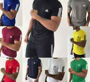 Adidas Men's Dri-FIT Short Sleev Training T-Shirt Size S,M,L,XL,XXL