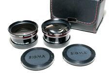 Sigma Japan Tele 1.4x / Wide 0.7x Vorsatz Set für 46mm Filtergewinde (sehr gut)
