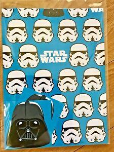Star Wars Stormtrooper/Darth Vader Wrapping Paper (Inc 2 Sheets & 2 Tags)