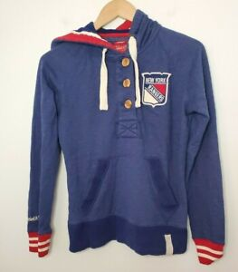 Mitchell & Ness NY Rangers Hoodie Women's Vintage style Size S