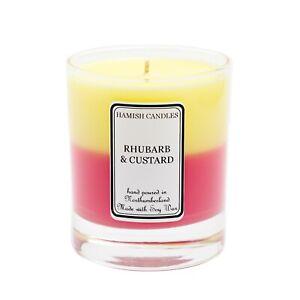 Rhubarb & Custard - Personalised Soy Wax Candle - 20cl