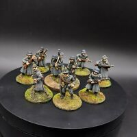 Painted 28mm Bolt Action German grenadier/volksgrenadier ×10 Squad #4