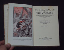 SEA SCOUTS OF THE KESTREL by Percy Westerman 1st edition / Adventures / DJ 1930
