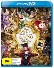 Alice Through The Looking Glass (3D Blu-ray)  - Region Free [New & Sealed]