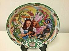 Knowles Musical Wizard of Oz Plate Munchkinland with COA