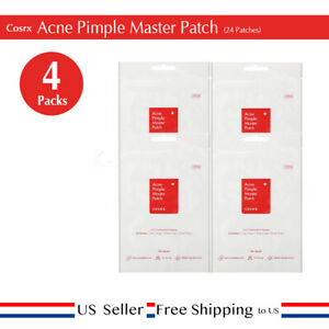 Cosrx Acne Pimple Master Patch (24 patches)  x 4set + Free Sample [US ]