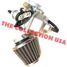 1984 1985 Honda Atc200m Carburetor & Air Filter 3 Wheeler Trike Atc 200m Carb