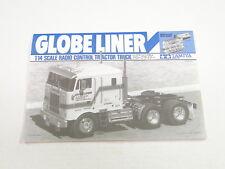 NUEVO Tamiya Globe liner 1/14 MANUAL ts0