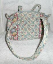 Vera Bradley small duffel style handbag in retired Pastel Blue