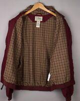 L. L. Bean Hommes Décontracté Imperméable Blouson Veste Manteau Taille L ATZ1200