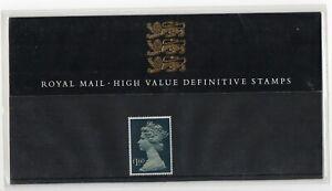 GB 1987 Machin £1.60 Definitive Presentation Pack No. 14 VGC stamps Free postage