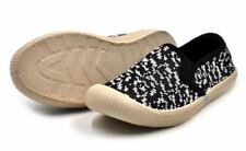 ZAC AA-M17 Aizawa Unisex Fashion Slip-On Sneakers Kids Shoes (Black) - Size 27